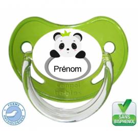 Tétine bébé cerise avec panda