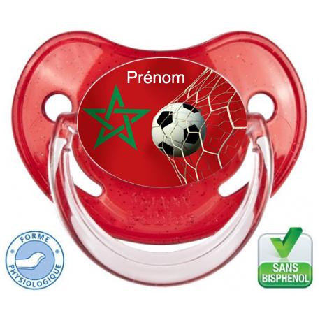 Sucette bébé ballon foot Maroc