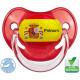 Sucette bébé ballon foot Espagne