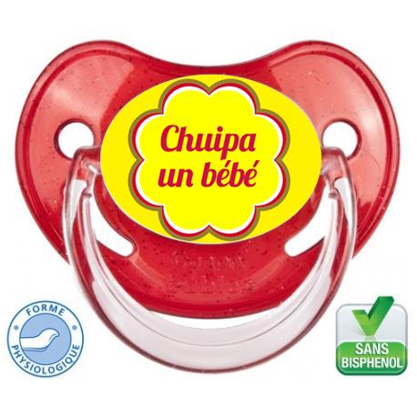 Sucette personnalisée Chuipa un bébé