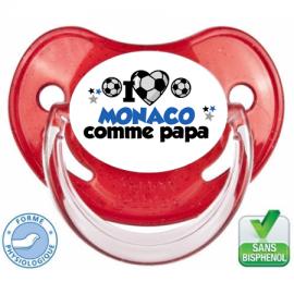 Tétine personnalisée club Monaco