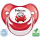 Sucette personnalisée voiture qui sourit