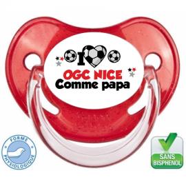 Tétine personnalisée club Nice