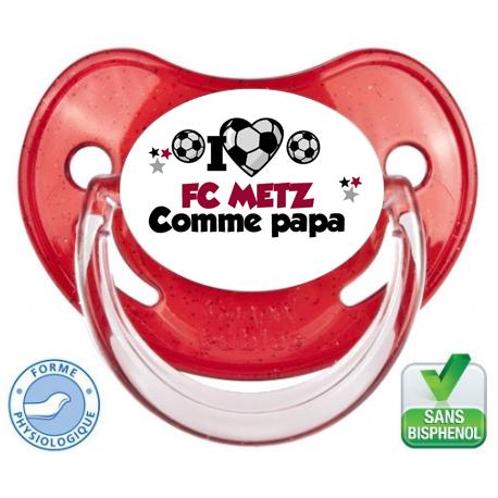 Tétine personnalisée club Metz