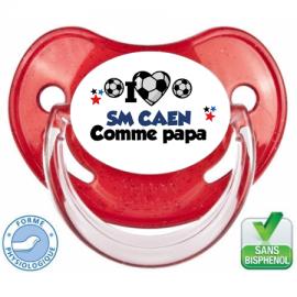 Tétine personnalisée club Caen