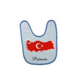 Bavoir personnalisé turquie prénom