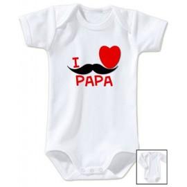 Body personnalisé i love Papa