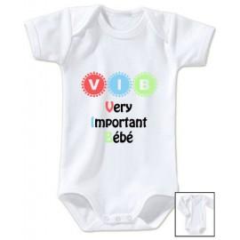 Body personnalisé very important bébé