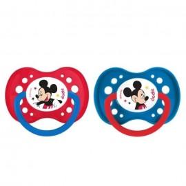 Tétine bébé Disney avec Mickey lot de 2
