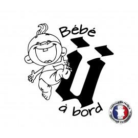 Stickers bébé à bord Unkut