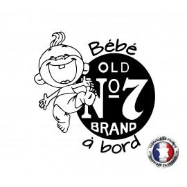 Stickers bébé à bord Jack Daniel's