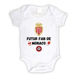 Body bébé personnalisé futur fan de Monaco