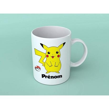 Mug tasse personnalisé Pikachu Pokemon