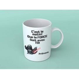 Mug tasse personnalisé que la force soit avec toi