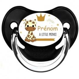 Sucette bébé girafe petit prince