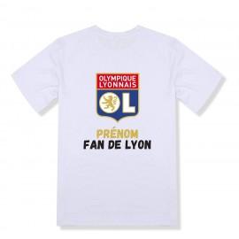 T-shirt enfant personnalisé LYON