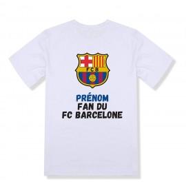 T-shirt enfant personnalisé Fc Barcelone
