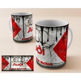 Mug tasse personnalisé Audi