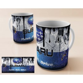 Mug tasse personnalisé Subaru