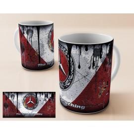 Mug tasse personnalisé Mercedes rouge