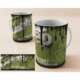 Mug tasse personnalisé Jeep