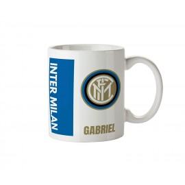 Mug tasse personnalisé foot Inter Milan et prénom