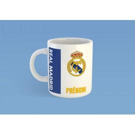 Mug tasse personnalisé foot Real Madrid et prénom