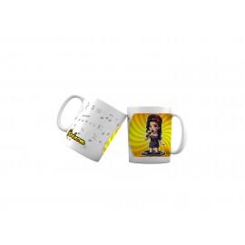 Mug tasse personnalisé Amy Winehouse et prénom