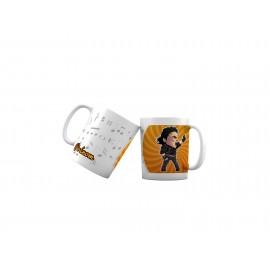 Mug tasse personnalisé Michael Jackson et prénom