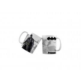 Mug tasse personnalisé Batman version bd et prénom