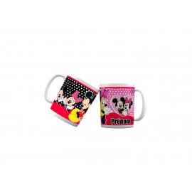 Mug tasse personnalisé Mickey Minnie love et prénom