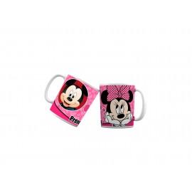 Mug tasse personnalisé avec Minnie qui pense a Mickey