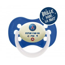 Tétine personnalisée futur fan du PSG