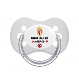 Tétine personnalisée futur fan de Monaco
