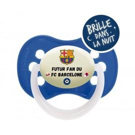 Tétine personnalisée futur fan de Barcelone
