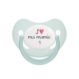 Tétine bébé j'aime ma mamie
