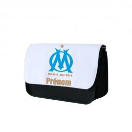 Trousse a crayon personnalisée Olympique de Marseille