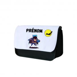 Trousse a crayon personnalisée Batman